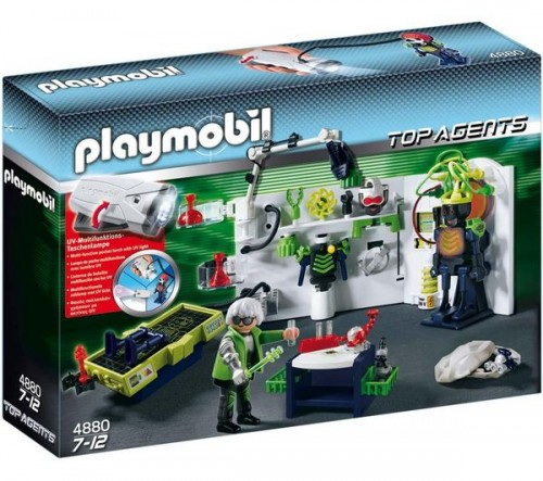 Laboratoire Playmobil
