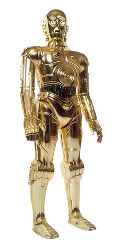 C 3PO Kenner, 1978 photo Maison de l'Ecologie Numérique