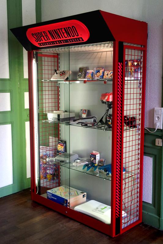 Nintendo vitrine_Maison Ecologie Numérique
