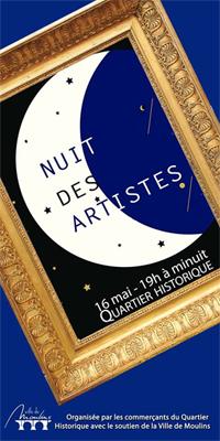 Nuit des artistes moulins_2015_affiche_maison ecologie numerique