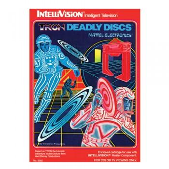 Tron Deadly Discs Mattel Electronics_Maison Ecologie Numerique